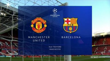 Full match: Manchester United vs Barcelona