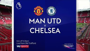 Full match: Manchester United vs Chelsea