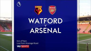 Full match: Watford vs Arsenal