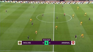 Full match: Wolverhampton Wanderers vs Arsenal
