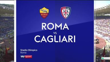 Full match: Roma vs Cagliari