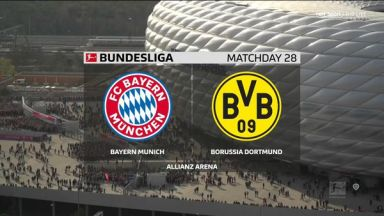 Full match: Bayern Munich vs Borussia Dortmund