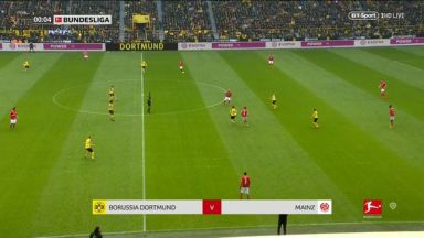 Full match: Borussia Dortmund vs Mainz 05