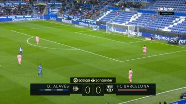 Full match: Deportivo Alaves vs Barcelona