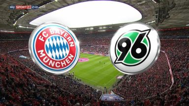 Full match: Bayern Munich vs Hannover 96