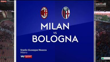 Full match: AC Milan vs Bologna