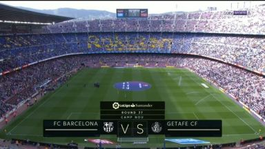 Full match: Barcelona vs Getafe