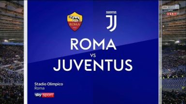 Full match: Roma vs Juventus