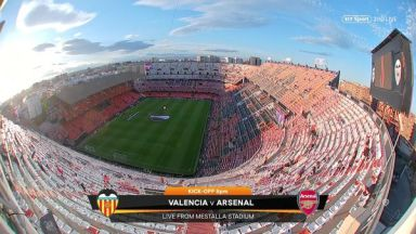 Full match: Valencia vs Arsenal