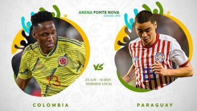 Full match: Colombia vs Paraguay