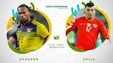 Full match: Ecuador vs Chile