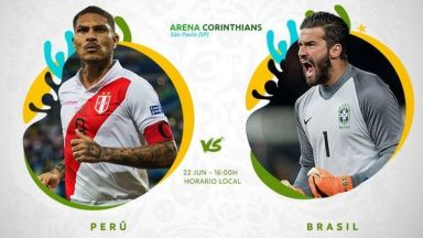Full match: Peru vs Brazil