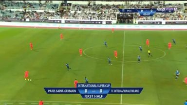 Full match: PSG vs Inter Milan