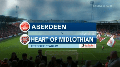 Full match: Aberdeen vs Hearts