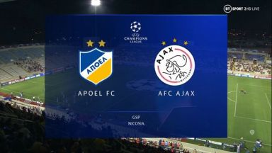 Full match: APOEL vs Ajax