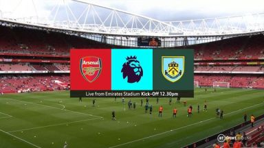 Full match: Arsenal vs Burnley