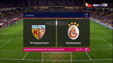 Full match: Kayserispor vs Galatasaray
