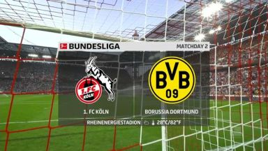 Full match: Koln vs Borussia Dortmund