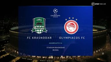 Full match: Krasnodar vs Olympiakos Piraeus