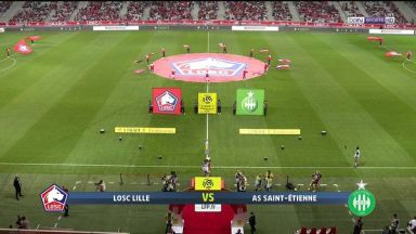 Full match: Lille vs Saint-Etienne
