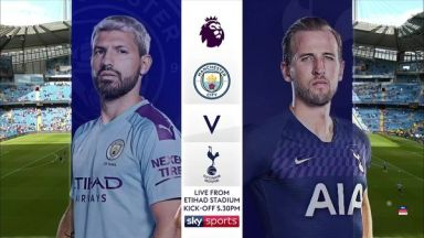 Full match: Manchester City vs Tottenham Hotspur