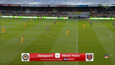 Full match: Newport County vs West Ham United