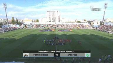 Full match: Portimonense vs Sporting Lisbon