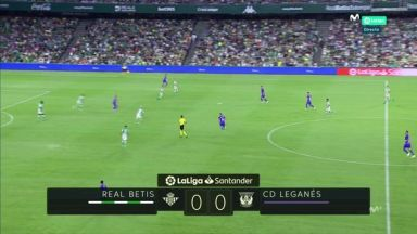 Full match: Real Betis vs Leganes