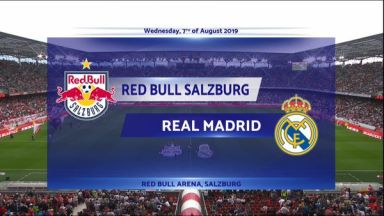 Full match: Salzburg vs Real Madrid
