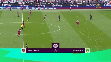 Full match: West Ham United vs Norwich City
