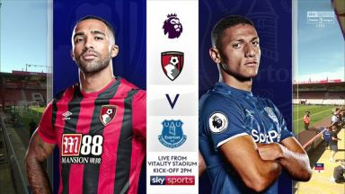 Full match: AFC Bournemouth vs Everton
