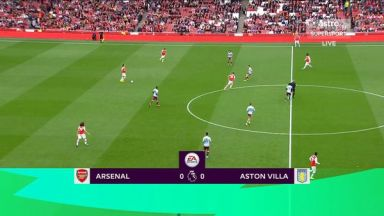 Full match: Arsenal vs Aston Villa