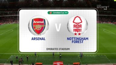 Full match: Arsenal vs Nottingham Forest