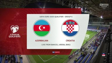 Full match: Azerbaijan vs Croatia