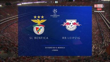 Full match: Benfica vs RB Leipzig