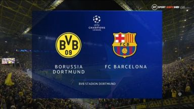 Full match: Borussia Dortmund vs Barcelona