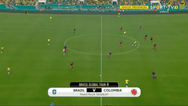 Full match: Brazil vs Colombia