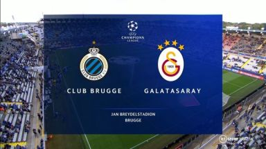 Full match: Club Brugge vs Galatasaray