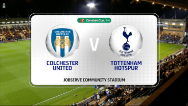 Full match: Colchester United vs Tottenham Hotspur