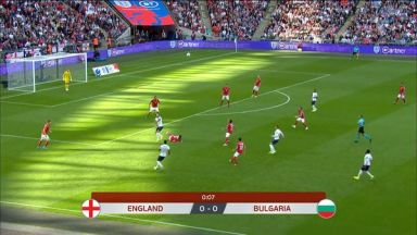 Full match: England vs Bulgaria