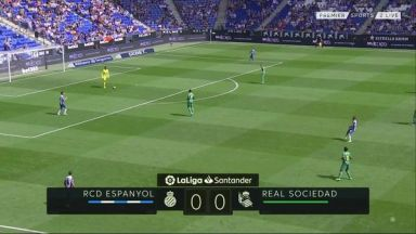 Full match: Espanyol vs Real Sociedad