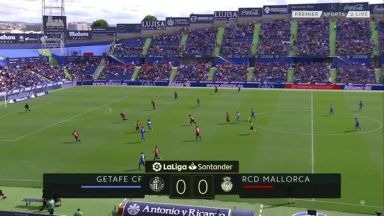 Full match: Getafe vs Mallorca