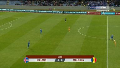 Full match: Iceland vs Moldova