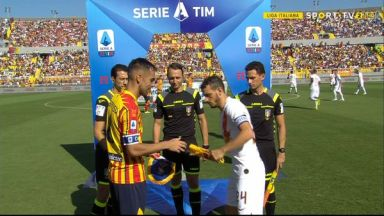 Full match: Lecce vs Roma