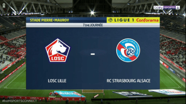 Full match: Lille vs Strasbourg