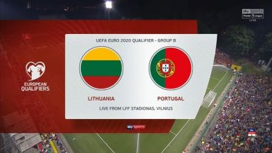 Full match: Lithuania vs Portugal