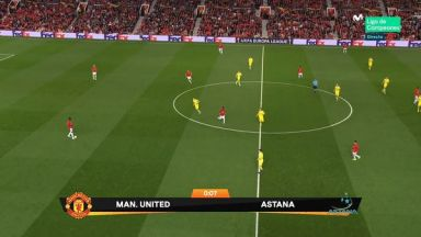 Full match: Manchester United vs Astana