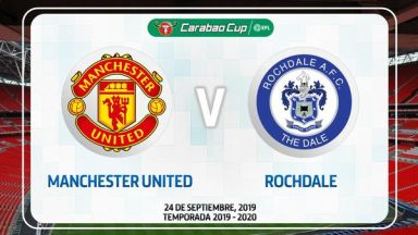Full match: Manchester United vs Rochdale