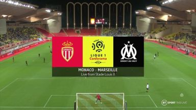 Full match: Monaco vs Olympique Marseille