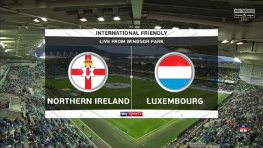Full match: Northern Ireland vs Luxembourg